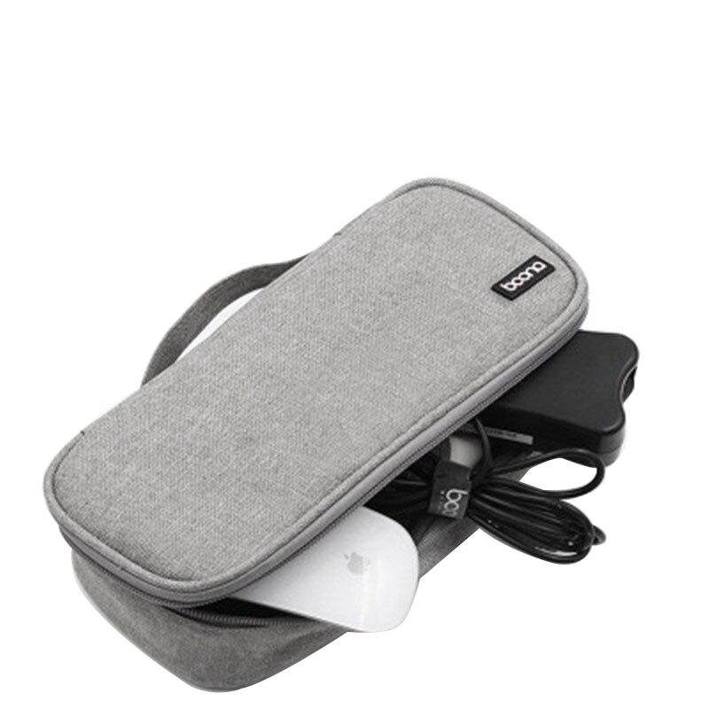 Portátil fonte de alimentação mouse cabo sacos de armazenamento acessórios digitais saco de armazenamento carregador organizador