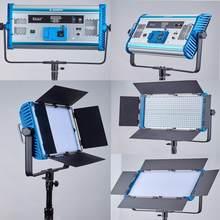 3200k-5500k Hight CRI led camera photography studio photo video light Pro LED Video light 100W panel lamp Bi-color For shooting