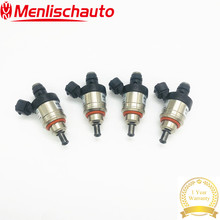 Fuel-Injector H2001-Type Hana Ohm B Red E8 ECER 4PCS Socket 110R-004686 67R010213 9D20