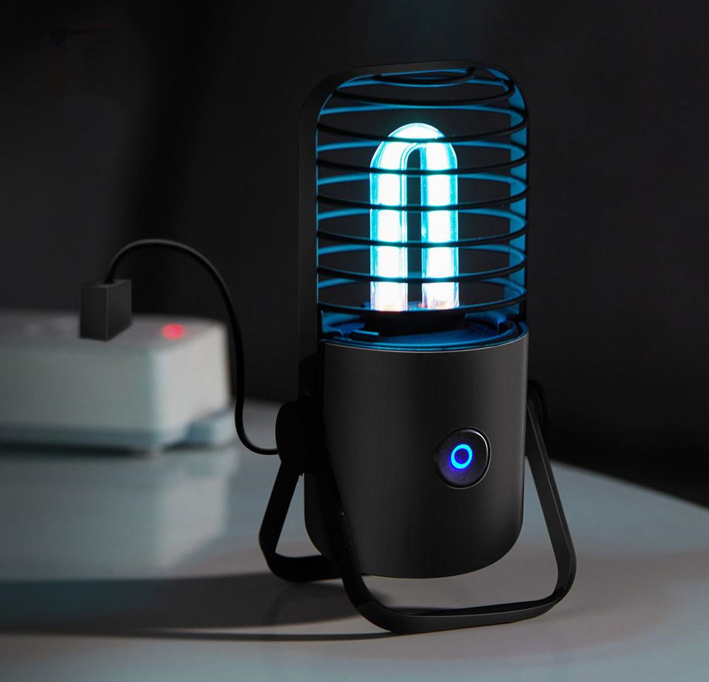 Youpin Xiaoda Poratble USB UVC Germicidal Ozone Sterilization Table Lamp Ultraviolet UV Sterilizer Light Tube For Home Bathroom