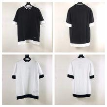 2021 Paris Clothing Homme T shirt Mens men Women Designer Hoodies High Street Print T shirt size