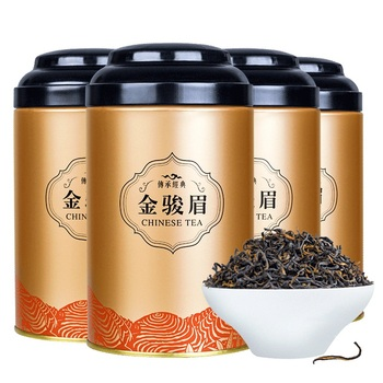 100G Jin Jun Mei Black Tea Canned Tea Bulk New Tea Wuyi Mountain Tongmuguan Honey Fragrance Gift Set Strong Fragrance 2