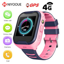 NIYOQUE A36e Kids Smart Watch 4g Ip67 Waterproof Wifi Gps Sos Smart Watch Alarm Clock Camera Baby Watch Vs Q50 Q90(China)