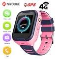 Reloj inteligente NIYOQUE A36e para niños 4g Ip67 impermeable Wifi Gps Sos reloj inteligente reloj despertador Cámara bebé reloj Vs q50 Q90