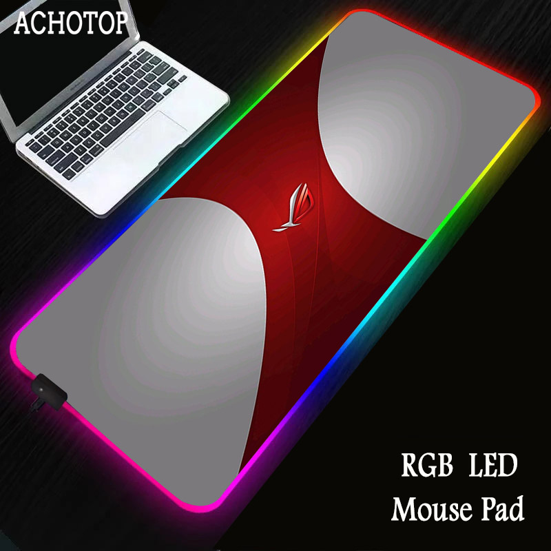 Rog Gaming Mouse Pad Computer Mousepad Rgb Large Mouse Pad Gamer Xxl Mouse Carpet Big Mause Pad Pc Desk Play Mat With Backlit Special Promo 7eb5d7 Cicig