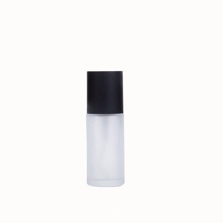 Пустой косметический контейнер из матового стекла, сыворотка, лосьон, насос, бутылка для хранения, упаковка, аксессуары, средство для макияжа для путешествий, 60 мл, 120 мл