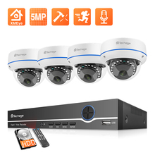 Nvr-Kit Surveillance-System-Set Sound-Ip-Camera Techage H.265 Home Security Audio Video-Cctv