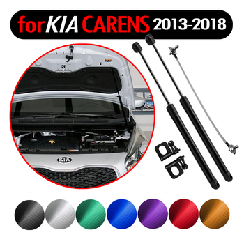 Car Styling Auto Front Hood Bonnet Modify Gas Struts Lift Support Shock Damper for Kia Rondo for Kia Carens 2013-2018 Absorber