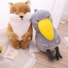 Новая буддийская большая кукла птичка лиса мультяшная плюшевая