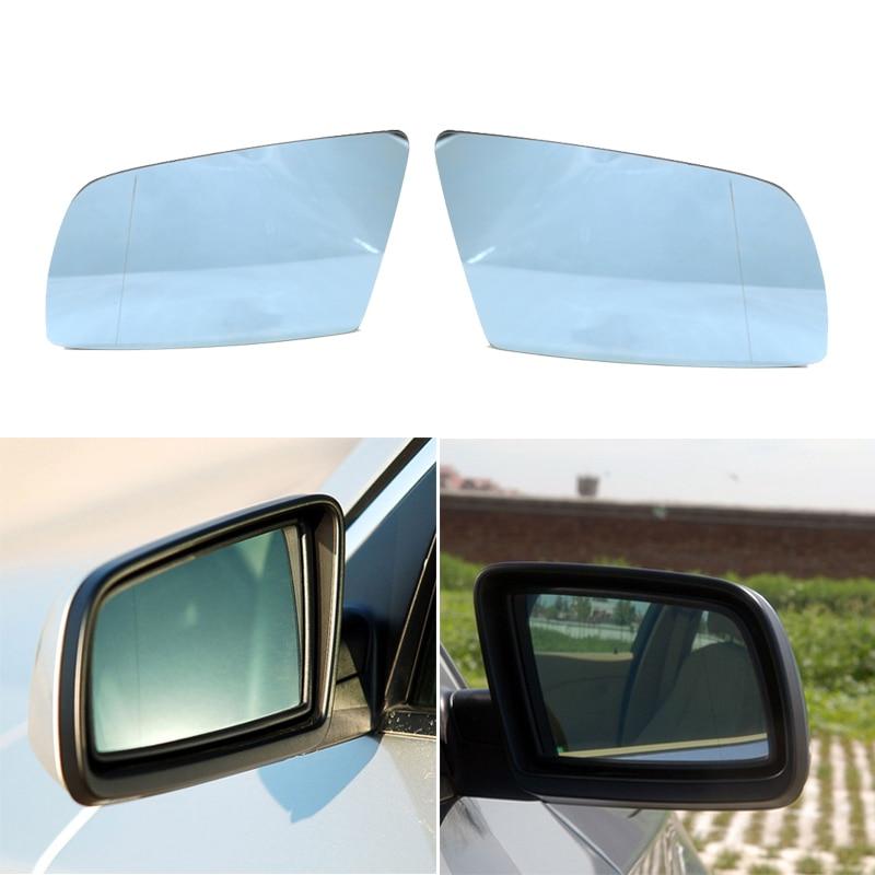 Left LH Side Door Mirror Glass Heated For BMW E60 E61 528i 535i 550i 525i