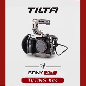 Image 2 - Tilta gaiola para câmera de sony, gaiola para câmeras dslr sony a7 ii/a7 iii/a9 a7rii a7r3 a7r iii a7sii alpha a 7 vs smallrig sony a7 gaiola