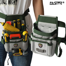 Tool Bag Portable High-Capacity Storage Bag Multi Function Tools Pocket Belt Pouch Electrician Tools Organizer Waist