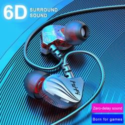 Проводные Игровые наушники, гарнитура с микрофоном 3,5 мм Type C, наушники-вкладыши для ПК для Xiaomi Huawei nova5 p20 p30 p40 mate20 Mate 30 PS4