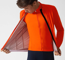 2019 cały sezon pomarańczowy lekka jazda na rowerze kurtka przeciwdeszczowa wiatroszczelna technologii wysokiej oddychające 3 warstwy tkaniny wodoodporna kurtka