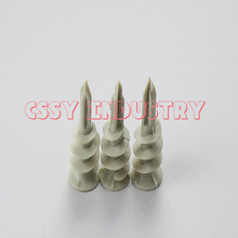цена на freeshipping fast expand nail wall plug plastic anchor with screw 12x32 14x42mm