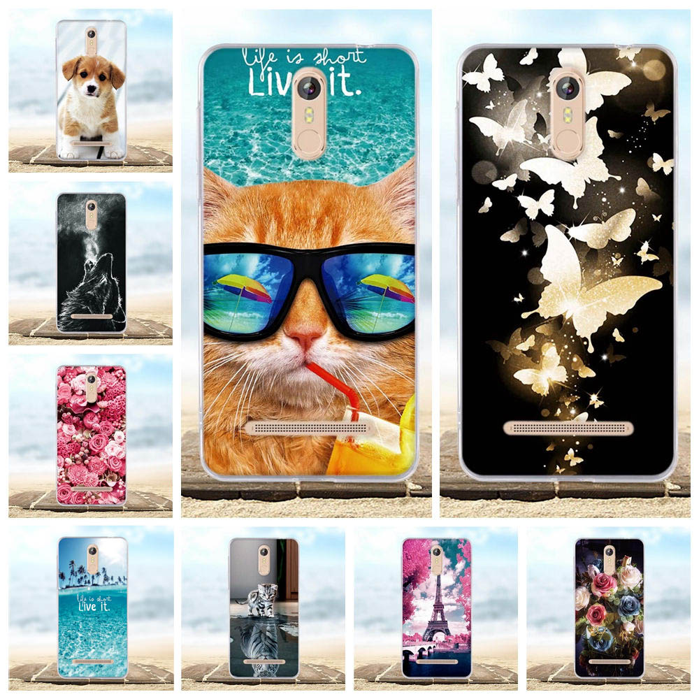 For Case Leagoo M8 Cover Soft Silicone TPU Cover For Leagoo M8 Pro Case 3D Cute Pattern Bags For Leagoo M8 / M8 Pro Phone Cases