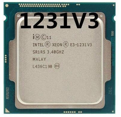 Intel Xeon Processor E3-1231…