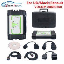 Escáner de diagnóstico para camiones, interfaz de actualización en línea, USB, V2.7.11.6, para Volvo Vocom 88890300, para Renault/UD/Mack