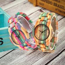 Shifenmei Reloj de madera para Hombre y mujer, Relojes de mano, de cuarzo, de lujo, regalo de Navidad