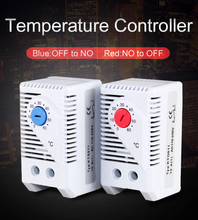 Normally Close NC  normally open NO adjustable 0 to 60 degree Thermostat Temperature Controller KTO011 KTS001