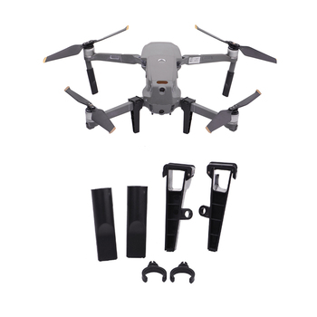 For DJI MAVIC 2 Zoom/Pro Shock-proof Scratch-proof Low-noisy Landing Gear Legs with Slot able to install LED Night Flying Lights image