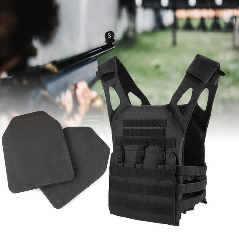 Tactical EVA Plate Carrier Body Armor Vests Dummy Military JPC Vest Foam Hunting Vest 31*26.5cm Armor Plates 2pcs Military Gear