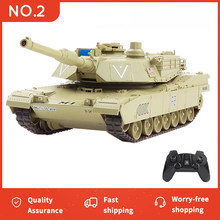 Super RC Tank War Militar Battle Launch Cross-country Remote Control Car World of Tank Hobby Boy Toys for Kids Children Gift