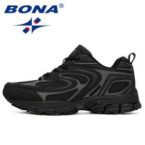 Image 5 - מעצבי BONA החדש פרה פיצול גברים ריצה נעלי Trendt ספורט נעלי גבר פופולרי סניקרס חיצוני הנעלה