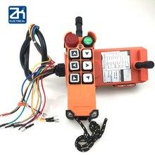36V 220V 380V AC F21 E1 rádio telecrane industrial controladores remotos para gruas e guindastes