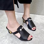 Square heel High-hee...