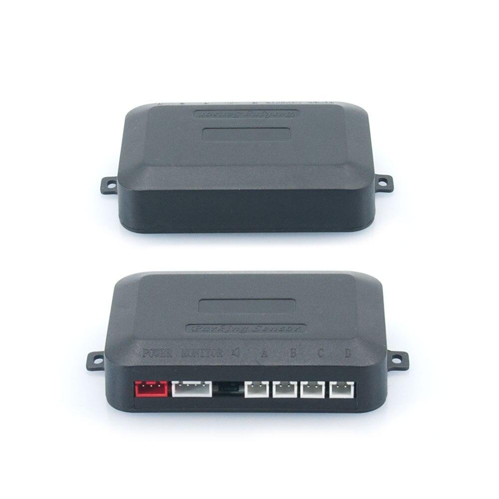 Auto Parkplatz Sensor Kit Led-anzeige Auto Parkplatz Radar mit 4 Sensoren Reverse Backup Monitor Detektor System