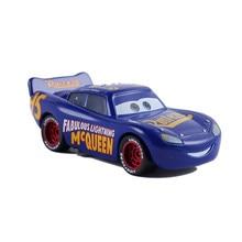 Disney pixar carros 2 3 relâmpago mcqueen mater jackson tempestade ramirez 1:55 diecast veículo metal menino azul corrida brinquedos criança presente