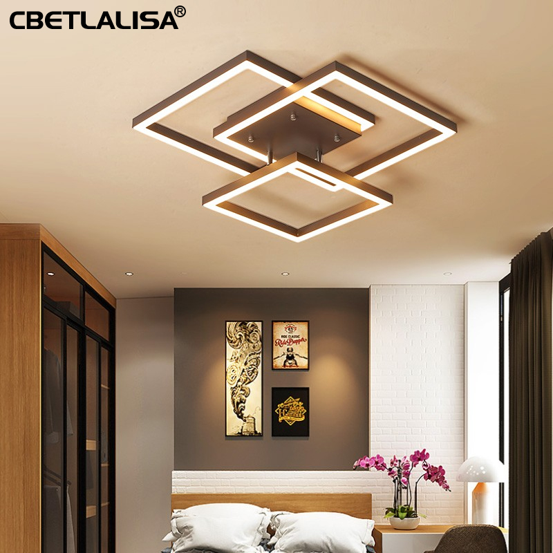 60%. LED chandelier lighting square living room dining room  bedroom  quality Ceiling lamp. home chandelier |Ceiling Lights| |  -