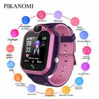 Neue Kind Smart Uhr Kinder SOS Anti-verloren IP67 Wasserdichte Smartwatch Sim Anruf Baby LBS Positioning Tracker Uhren Für junge Mädchen