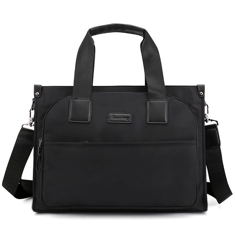 Nylon Bag Portable Work Business Office Male Messenger Bags Men Briefcase For Document Laptop Computer Handbags XA289ZC