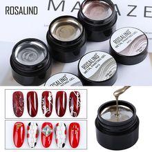 ROSALIND 3 разноцветный Гель-лак для ногтей основа для маникюра праймер для ногтей металлическая живопись Гибридный лак для ногтей гель замочить от УФ Украшение для ногтей