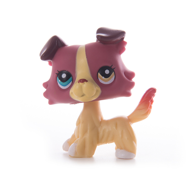 LPS Little Pet Shop Shorthair Cat Great Dane Collie Dachshund Spaniel Dog Collection Action Figures Model Dolls Toys Kids Gift|Action & Toy Figures|   -
