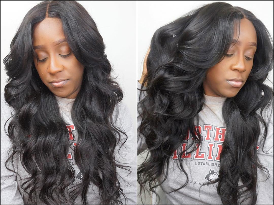 H2660fd10760e477fb3d10d1f37219038Q HJ Weave Beauty Body Wave Human Hair Bundles With Closure 8-30 32 34 38inch 7A Virgin Hair Brazilian Hair Weave Bundles