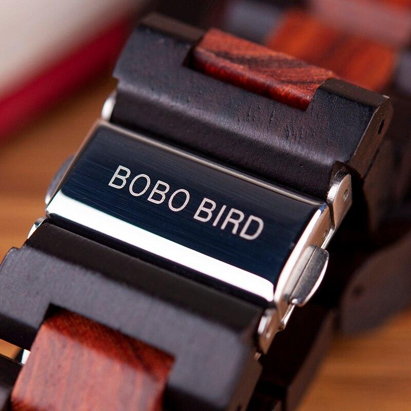 Relogio Masculino BOBO BIRD Mechanical Watch Men Wood Wristwatch Automatic Customized Gift for Dad Relogio Masculino BOBO BIRD Mechanical Watch Men Wood Wristwatch Automatic Customized Gift for Dad