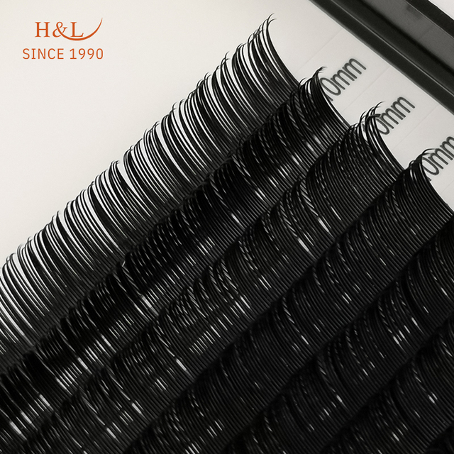 H&L SINCE 1990 20Rows Faux mink individual eyelash lashes maquiagem cilios for professionals soft mink eyelash extension 3