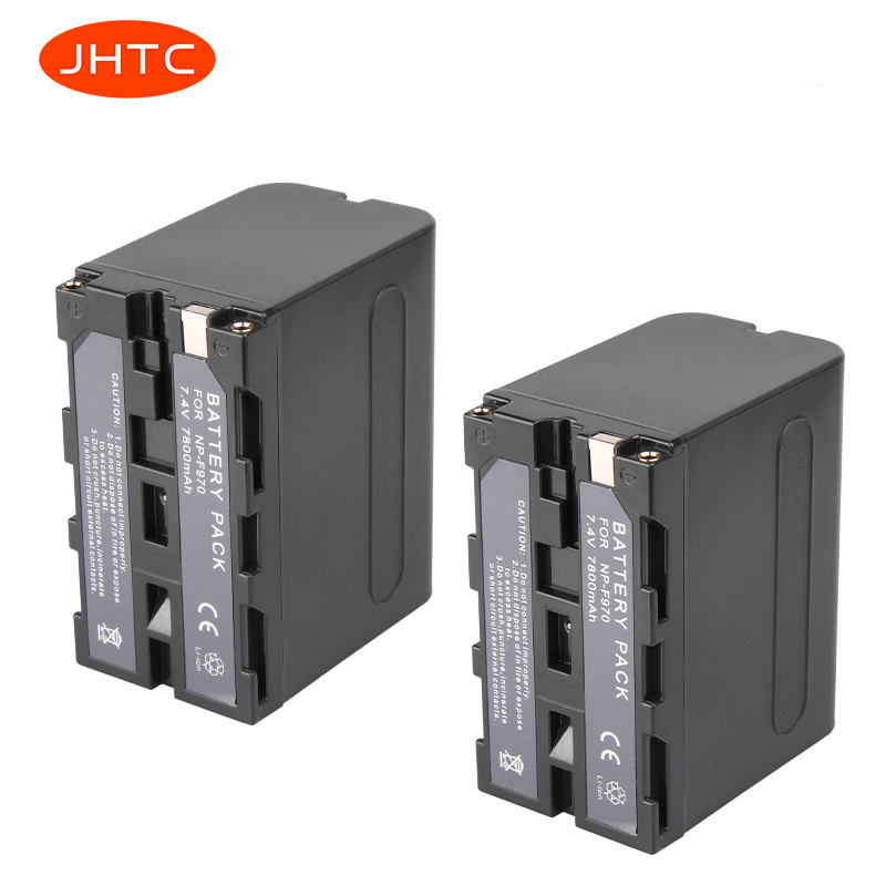 Camera Battery NP-F970 NP-F960 For Sony CCD-TRV58 CCD-TR3300 CCD-TRV51 CCD-TR3300 TR3000 Batteria F970/F960 7800mAh