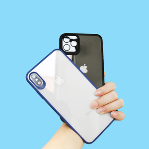 Image 3 - WIZ טלפון מקרה כיסוי שקוף חזרה כיסוי מקרה עדשת הגנה עבור iPhone 11/11 Pro/11 פרו מקס/XS מקס/XS/X/XR/7P/8P/7/8