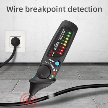 Contactloze Voltage Detector Tester BSIDE AVD06 Socket Muur Stopcontact Live Test Pen Indicator 12 ~ 1000V Wedstrijd Multimeter
