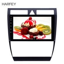 Автомагнитола Harfey 2 din, мультимедийный проигрыватель на android 8,1 с GPS для Audi A6 S6 RS6 1997 2004, Wi Fi, HD, сенсорный экран