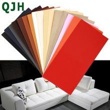 Parche de cuero autoadhesivo de 10x20 CM para reparar sofás, Parche de cuero PU, Parche de asiento, cama, álbum de recortes, pegatina de tela, insignia