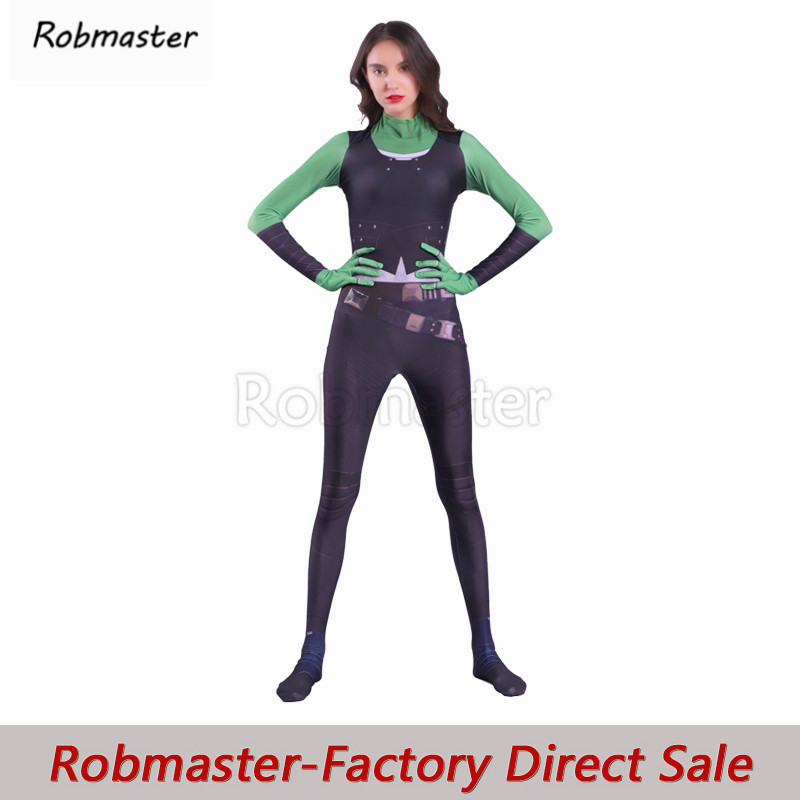Avengers Gamora Cosplay Costume Girls Women 3D Print Spandex Guardians Of The Galaxy Superhero Gamora Costume Bodysuit Jumpsuit
