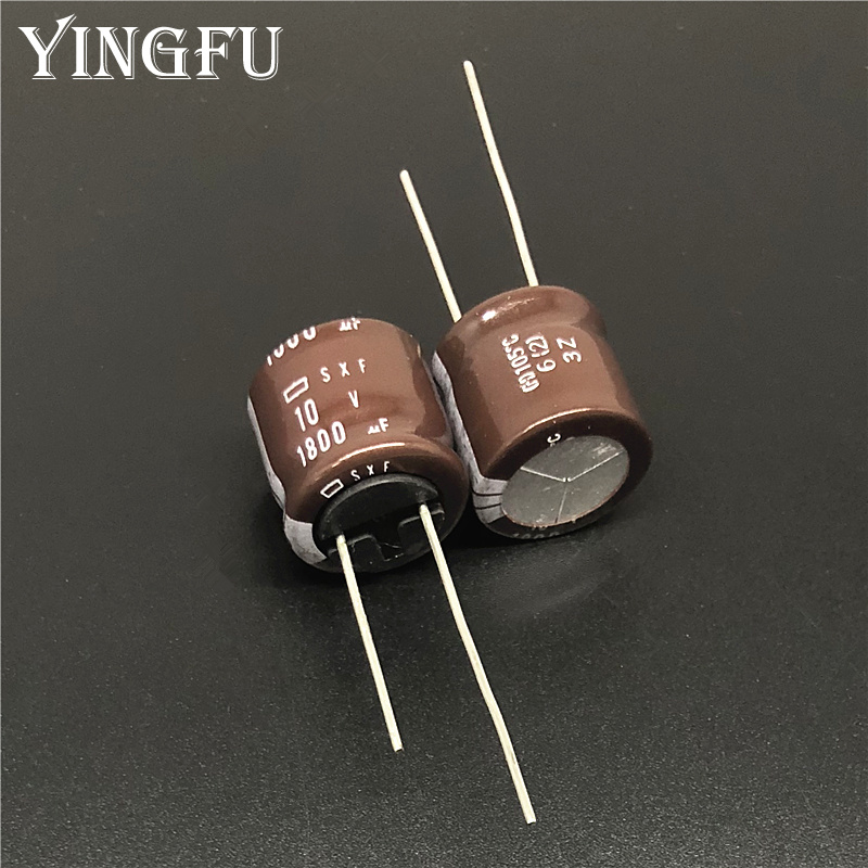 10pcs/Lot 1800uF 10V NCC SXF Series 16x15mm Low Impedance Long Life 10V1800uF Power Supply Capacitor Strong Feet
