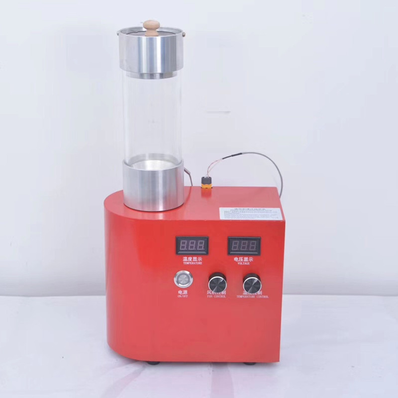 Small home use electric hot air coffee bean roaster roasting machine image