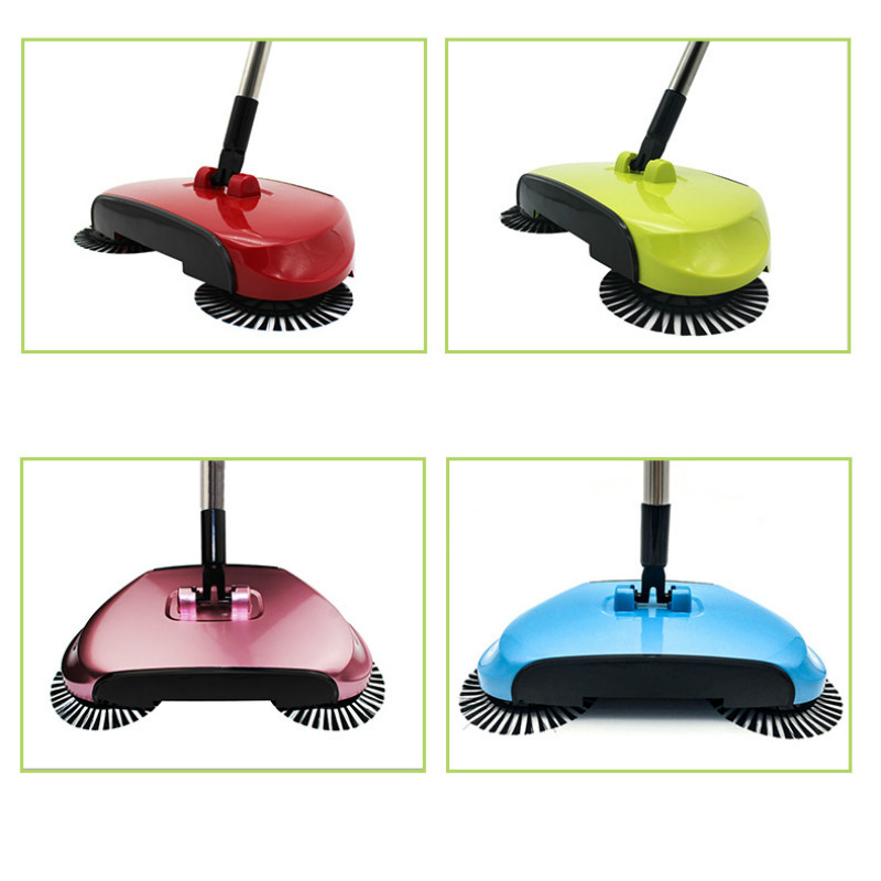 Broom Floor Vacuum Cleaning Sweeper Washing Brush Household Tools Sweeping Machine Handle Home Appliances Mop For Desk Carpet
