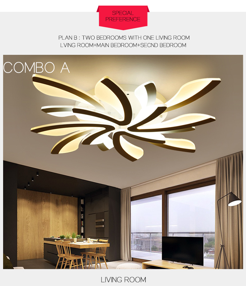 H26630a6c3bc5464db7abd11b4ac14b61y LED Ceiling Lights Dandelion Indoor Ceiling Lamp Modern Simple Post-Modern Living Room Bedroom Dining Room Study Room